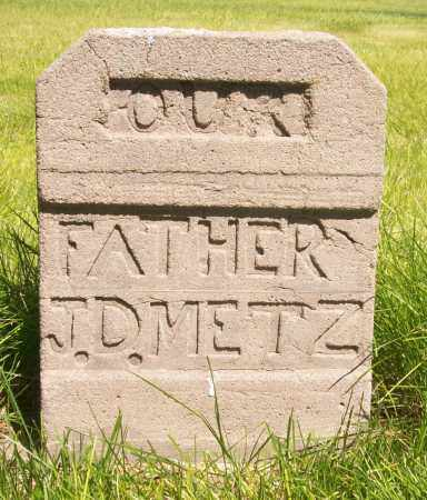 METZ, JOHN DANIEL - Keith County, Nebraska   JOHN DANIEL METZ - Nebraska Gravestone Photos
