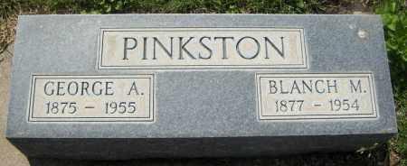 PINKSTON, GEORGE A. - Keith County, Nebraska | GEORGE A. PINKSTON - Nebraska Gravestone Photos