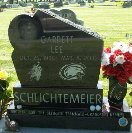SCHLICHTEMEIER, GARRETT LEE - Keith County, Nebraska   GARRETT LEE SCHLICHTEMEIER - Nebraska Gravestone Photos