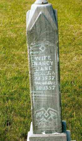 BILLINGS, NANCY JANE - Keya Paha County, Nebraska | NANCY JANE BILLINGS - Nebraska Gravestone Photos