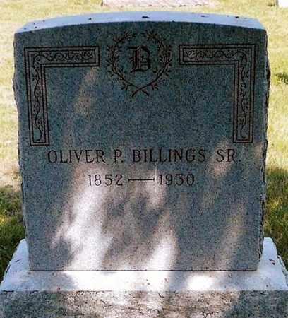 BILLINGS, OLIVER P. - Keya Paha County, Nebraska | OLIVER P. BILLINGS - Nebraska Gravestone Photos