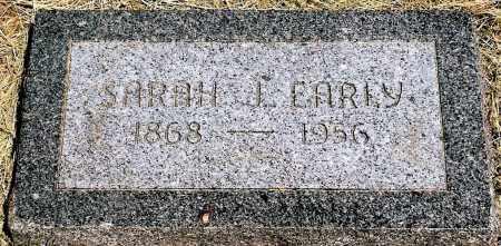 EARLY, SARAH J. - Keya Paha County, Nebraska | SARAH J. EARLY - Nebraska Gravestone Photos