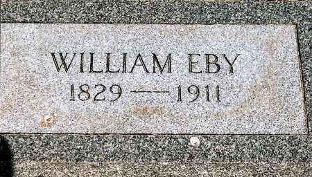 EBY, WILLIAM - Keya Paha County, Nebraska   WILLIAM EBY - Nebraska Gravestone Photos
