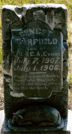 EVANS, ERNEST GARFIELD - Keya Paha County, Nebraska | ERNEST GARFIELD EVANS - Nebraska Gravestone Photos