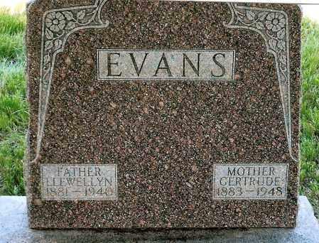 EVANS, GERTRUDE - Keya Paha County, Nebraska | GERTRUDE EVANS - Nebraska Gravestone Photos
