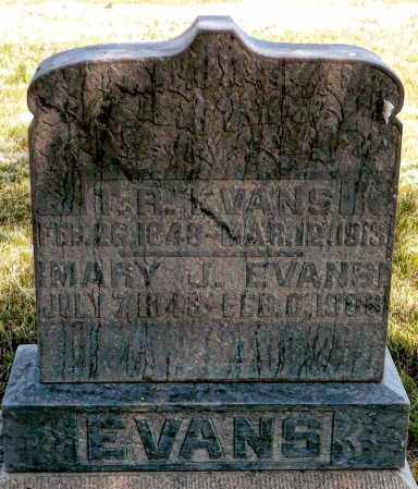 PARRY EVANS, MARY JANE - Keya Paha County, Nebraska | MARY JANE PARRY EVANS - Nebraska Gravestone Photos