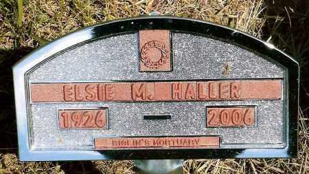 HALLER, ELSIE M. - Keya Paha County, Nebraska   ELSIE M. HALLER - Nebraska Gravestone Photos