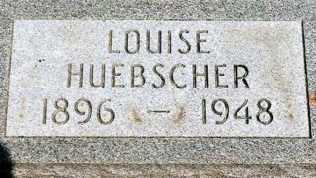 HUEBSCHER, LOUISE - Keya Paha County, Nebraska   LOUISE HUEBSCHER - Nebraska Gravestone Photos