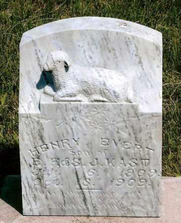 KAST, HENRY EVERT - Keya Paha County, Nebraska | HENRY EVERT KAST - Nebraska Gravestone Photos
