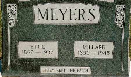 MEYERS, ETTIE - Keya Paha County, Nebraska | ETTIE MEYERS - Nebraska Gravestone Photos