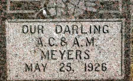 MEYERS, INFANT - Keya Paha County, Nebraska | INFANT MEYERS - Nebraska Gravestone Photos