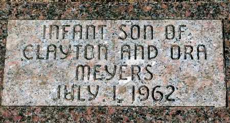 MEYERS, INFANT SON - Keya Paha County, Nebraska | INFANT SON MEYERS - Nebraska Gravestone Photos
