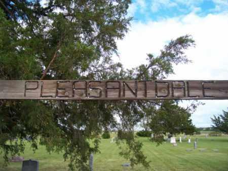 *PLEASANT DALE CEMETERY, GATE - Keya Paha County, Nebraska | GATE *PLEASANT DALE CEMETERY - Nebraska Gravestone Photos