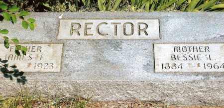 RECTOR, BESSIE L. - Keya Paha County, Nebraska   BESSIE L. RECTOR - Nebraska Gravestone Photos