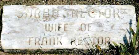 WHITEHEAD RECTOR, SARAH - Keya Paha County, Nebraska | SARAH WHITEHEAD RECTOR - Nebraska Gravestone Photos