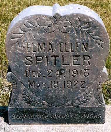 SPITLER, EMMA ELLEN - Keya Paha County, Nebraska   EMMA ELLEN SPITLER - Nebraska Gravestone Photos