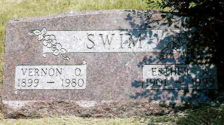 RECTOR SWIM, ESTHER A. - Keya Paha County, Nebraska | ESTHER A. RECTOR SWIM - Nebraska Gravestone Photos