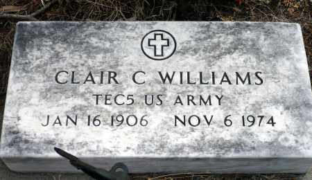 WILLIAMS, CLAIR C. - Keya Paha County, Nebraska | CLAIR C. WILLIAMS - Nebraska Gravestone Photos