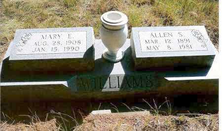 WILLIAMS, ALLEN S. - Keya Paha County, Nebraska   ALLEN S. WILLIAMS - Nebraska Gravestone Photos