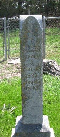 ARNESON, KAREN S. 1892 - Knox County, Nebraska   KAREN S. 1892 ARNESON - Nebraska Gravestone Photos