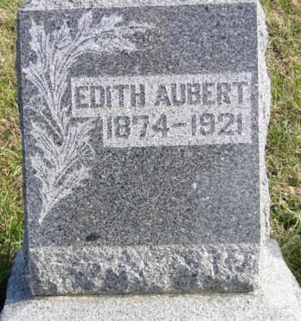 ELWOOD AUBERT, EDITH - Knox County, Nebraska | EDITH ELWOOD AUBERT - Nebraska Gravestone Photos