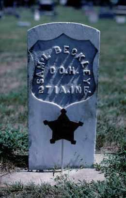 BECKLEY, SAMUEL - Knox County, Nebraska | SAMUEL BECKLEY - Nebraska Gravestone Photos