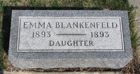 BLANKENFELD, EMMA - Knox County, Nebraska   EMMA BLANKENFELD - Nebraska Gravestone Photos