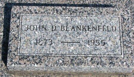BLANKENFELD, JOHN D. - Knox County, Nebraska   JOHN D. BLANKENFELD - Nebraska Gravestone Photos