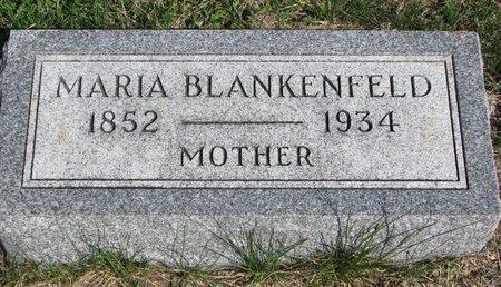 EIGLER BLANKENFELD, MARIA - Knox County, Nebraska | MARIA EIGLER BLANKENFELD - Nebraska Gravestone Photos
