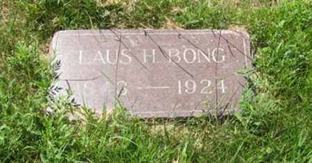 BONGE, CLAUS H. - Knox County, Nebraska | CLAUS H. BONGE - Nebraska Gravestone Photos
