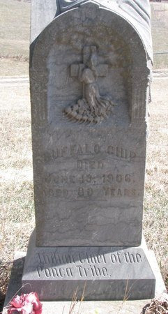 BUFFALO CHIP, . - Knox County, Nebraska   . BUFFALO CHIP - Nebraska Gravestone Photos