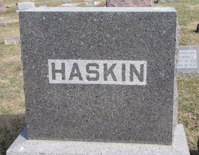 HASKIN, *FAMILY MONUMENT - Knox County, Nebraska | *FAMILY MONUMENT HASKIN - Nebraska Gravestone Photos