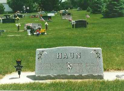ANGUS HAUN, LAREA - Knox County, Nebraska | LAREA ANGUS HAUN - Nebraska Gravestone Photos