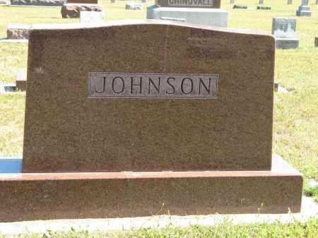 JOHNSON, (FAMILY MONUMENT) - Knox County, Nebraska | (FAMILY MONUMENT) JOHNSON - Nebraska Gravestone Photos