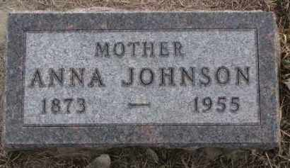 JOHNSON, ANNA - Knox County, Nebraska   ANNA JOHNSON - Nebraska Gravestone Photos