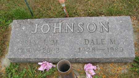 JOHNSON, ARLYCE M. - Knox County, Nebraska | ARLYCE M. JOHNSON - Nebraska Gravestone Photos