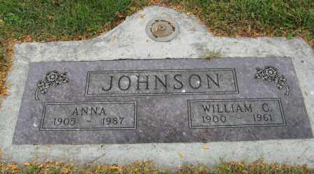 JOHNSON, WILLIAM C. - Knox County, Nebraska | WILLIAM C. JOHNSON - Nebraska Gravestone Photos