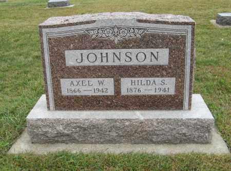 JOHNSON, AXEL W. - Knox County, Nebraska | AXEL W. JOHNSON - Nebraska Gravestone Photos