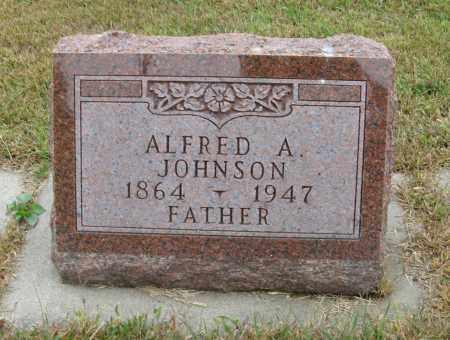 JOHNSON, ALFRED A. - Knox County, Nebraska | ALFRED A. JOHNSON - Nebraska Gravestone Photos