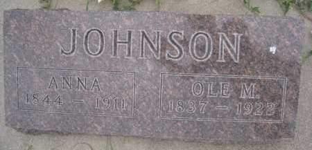 JOHNSON, OLE M. - Knox County, Nebraska | OLE M. JOHNSON - Nebraska Gravestone Photos