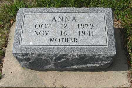 JOHNSON, ANNA - Knox County, Nebraska | ANNA JOHNSON - Nebraska Gravestone Photos
