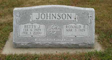 JOHNSON, BETTY J. - Knox County, Nebraska   BETTY J. JOHNSON - Nebraska Gravestone Photos