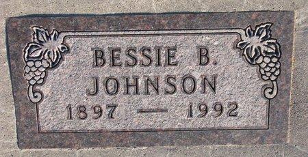 JOHNSON, BESSIE B. - Knox County, Nebraska   BESSIE B. JOHNSON - Nebraska Gravestone Photos