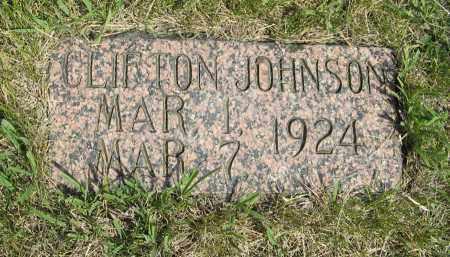 JOHNSON, CLIFTON - Knox County, Nebraska   CLIFTON JOHNSON - Nebraska Gravestone Photos