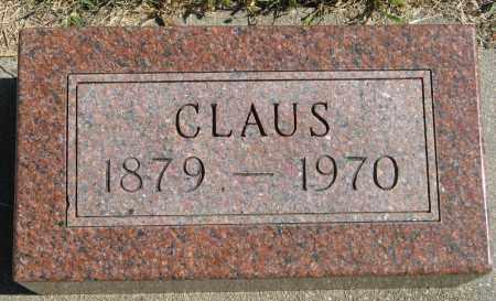 JOHNSON, CLAUS - Knox County, Nebraska | CLAUS JOHNSON - Nebraska Gravestone Photos