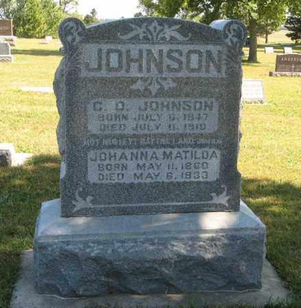 JOHNSON, C. O. - Knox County, Nebraska | C. O. JOHNSON - Nebraska Gravestone Photos