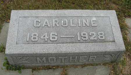 JOHNSON, CAROLINE - Knox County, Nebraska   CAROLINE JOHNSON - Nebraska Gravestone Photos