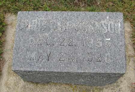 JOHNSON, CHRISTINA - Knox County, Nebraska   CHRISTINA JOHNSON - Nebraska Gravestone Photos