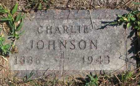JOHNSON, CHARLIE - Knox County, Nebraska | CHARLIE JOHNSON - Nebraska Gravestone Photos