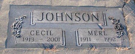 JOHNSON, CECIL - Knox County, Nebraska | CECIL JOHNSON - Nebraska Gravestone Photos